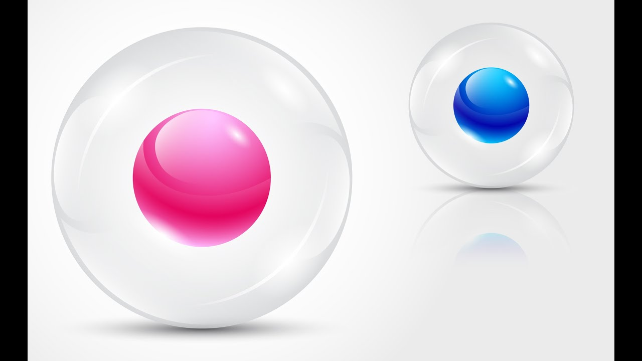 How To Create 3d Logo Design Transparent Sphere In Adobe