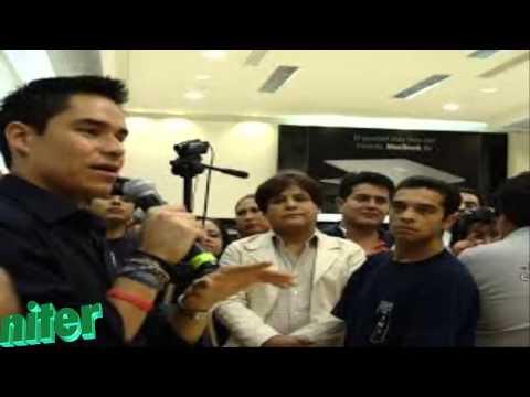Video del Momento en el que censuran a Toño Esquinca por hablar de Peña Nieto