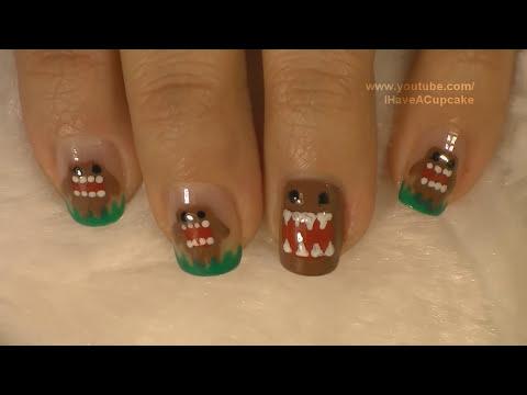 Domo Kun Nail Art Tutorial / Arte para las uñas diseño de Domo