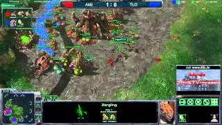 StarCraft II G20 TLO(Z) vs Akki(Z) ESL Amatuer Series - Map 2