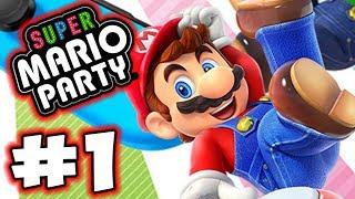 Super Mario Party - Part 1 - Mario Time! (Gameplay Walkthrough)