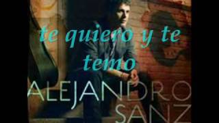 Watch Alejandro Sanz Te Quiero Y Te Temo video