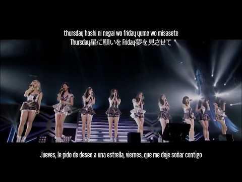 [PV] Girls' Generation - Everyday Love [Sub Español - Kanji - Romanización]