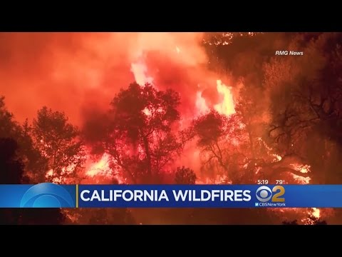 Wildfires Burn In California