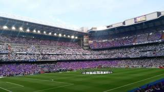 Real Madrid-M. City | Vuelta 1/2 2015-2016| Himno