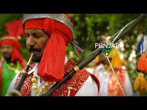 Bagpipers of Punjab