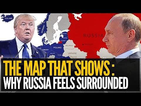 The Map That Shows Why Russia Feels Surrounded - Mike Maloney