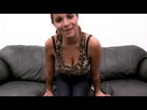 Busty Audrey Backroom Casting Couch video