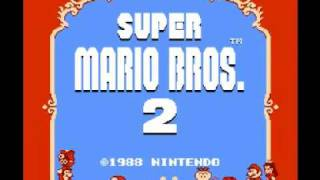 Super Mario Bros 2 (NES) Music - Life Lost