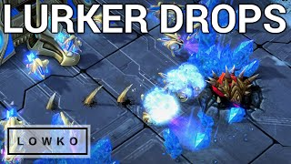 StarCraft 2: LURKER DROPS! (Solar vs Astrea)