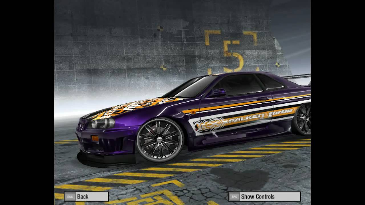 Need For Speed ProStreet customized cars #2 - YouTube