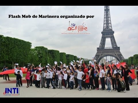 Flash Mob Marinera en Paris VIDEO OFICIAL