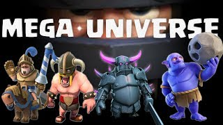 Who is MEGA UNIVERSE of Clash Royale?? || MEGA KNIGHT UPDATED 2017 ||