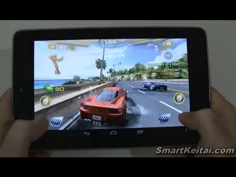 Asphalt 7 Heat for Android - Review on Nexus 7 Tablet (Gameloft)