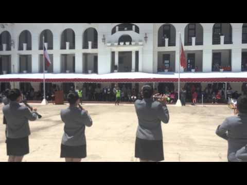 Banda Colegio Nacional, Presentación Regimiento Maipo 2014