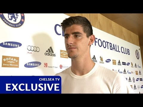 Courtois: Very happy with the new deal