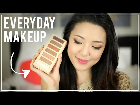 EVERYDAY Makeup for Work & School (LORAC Skinny Palette)