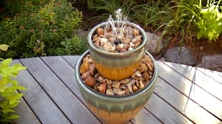 How to Build a Two-Tier Fountain