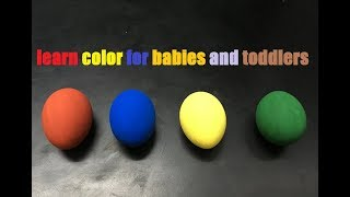 learn colors for babies and toddlers