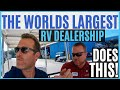 WE HAVE NEVER SEEN AN RV DEALER LIKE THIS! (LAZYDAYS RV TAMPA FLORIDA)