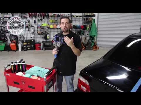 Cyclo Model 5-Pro Polisher - Chemical Guys Professional Auto Detailing - Buffing and Polishing
