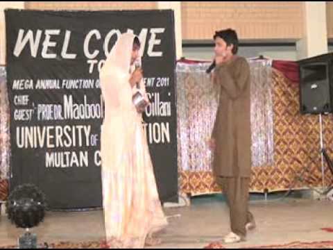 Funny Heer Ranjha Skit At Mega Function Of Active Iterians Uoe.multan video