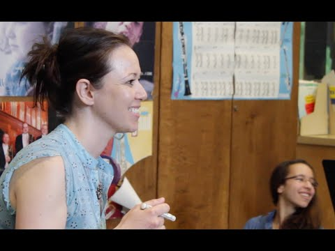 Composer Abigail Richardson visits Colonel By Secondary School