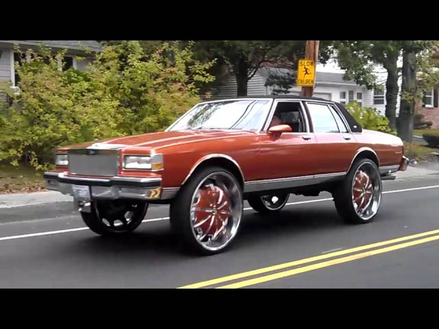 Box Chevy Donk Box Chevy Caprice Donk on 30s