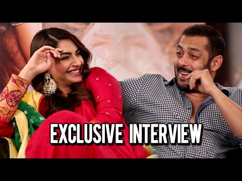 Salman Khan Sonam Kapoor | Exclusive Interview | Prem Ratan Dhan Payo