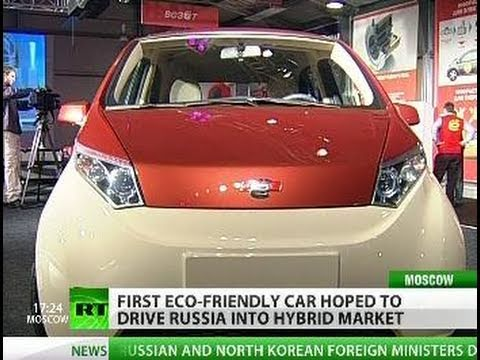 Yo! for Ё: New hybrid car by Russian magnate in drive for eco future