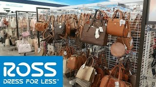 ROSS DRESS FOR LESS!! COME WITH ME * PURSES & SHOES