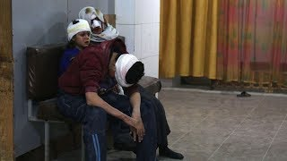 At least 310 killed in Syria since Sunday as government troops shell eastern Ghouta