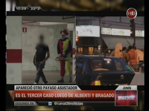 Canal 26 - Payaso Maldito en Junín