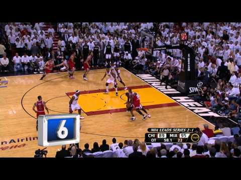Miami Heat TOP 10 Plays of the Playoffs