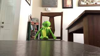 Kermit sings living in a prayer