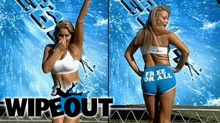 Crazy Vegan Model Gets Pummled | Wipeout HD