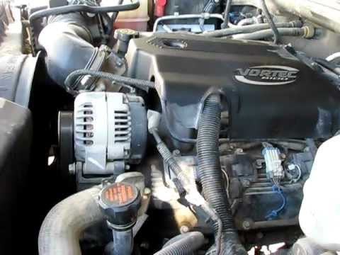 Chevy 8 1 496 Big Block 2001 K2500hd Crew Cab Youtube
