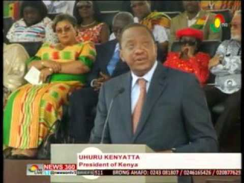 News360 - Ghana@59 -  African countries  must fight terrorism - Prez. Kenyatta  - 6/3/2016