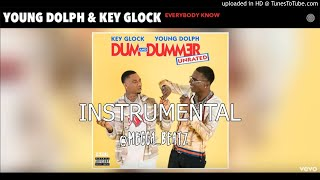 Young Dolph, Key Glock - Everybody Know (Official Instrumental) Re.Prod. @Mecca_Beatz