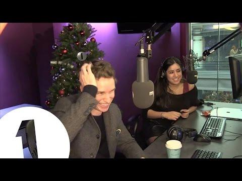 Eddie Redmayne interview highlights reel