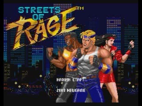 Streets of Rage [SMD] – RTP by Dark Sol