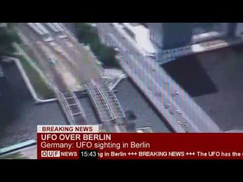 BREAKING NEWS: UFO über Berlin ***leaked video***
