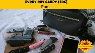 Why Carry a Gun & My EDC Purse