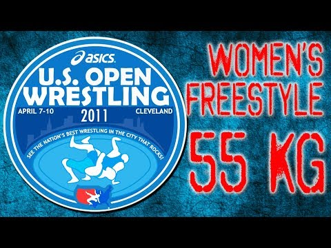 Helen Maroulis vs. Olympian Kelsey Campbell 55Kg - 2011 ASICS U.S. Open