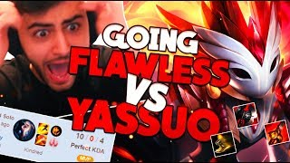 RANK 1 KINDRED FOREST WITHIN FLAWLESS GAME VS YASSUO - League of Legends