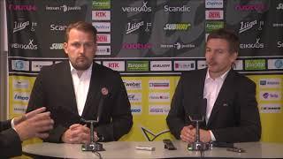 SaiPa-HPK -lehdistötilaisuus 19.9.2017