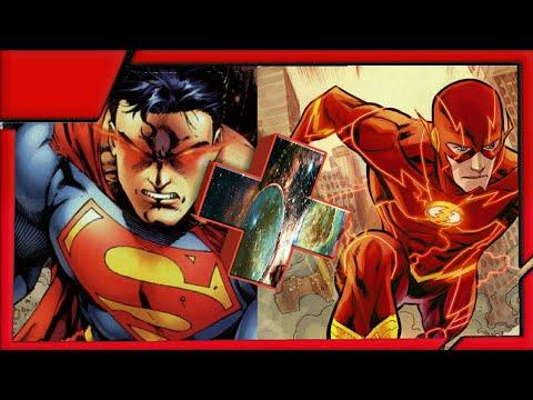 Гибрид персонажей marvel+DC