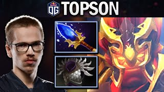 OG.TOPSON EMBER SPIRIT WITH 800 XPM - DOTA 2 7.25 GAMEPLAY
