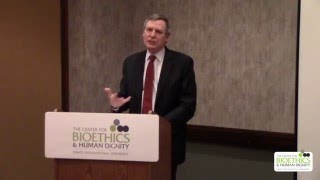 Daniel P. Sulmasy, MD, PhD - Hope and Care at the End of Life (Respondent: Dennis Hollinger, PhD)