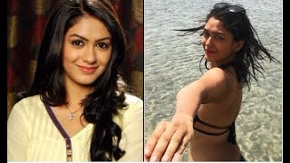 'Kumkum Bhagya' actress Mrunal Thakur's black bikini pic is oh-so-hot!